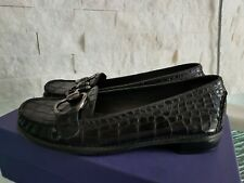 STUART WEITZMAN Flats Loafers Oxford Shoes Croco Leather 6 36 $795