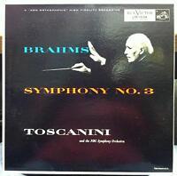Arturo Toscanini - Brahms Symphony No 3 LP Mint- LM-1836 RCA Mono 1954