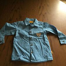 Karierte Steiff Baby-Hemden für Jungen