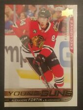 2018-19 UPPER DECK Series 2 ALEXANDRE FORTIN Young Guns Exclusive (038/100) #490