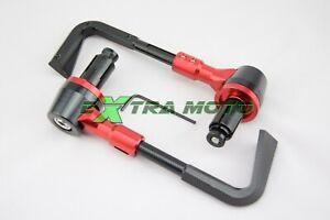 PARALEVE moto protezione leva freno frizione ergal alluminio CNC ROSSO