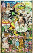 Charles Fazzino rare pop art work Wizard of OZ limited 145/300 artwork rare OOP