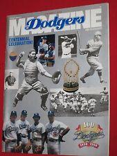 1990 DODGERS MAGAZINE / PROGRAM ~ CENTENNIAL ISSUE ~ DODGERS VS HOUSTON ASTROS