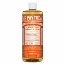 Dr Bronner Tea Tree Castile Liquid Soap - 946ml
