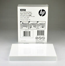 HP 5x7 Glossy Inkjet Ink Jet  Photo Paper Vivid CG938A 75 Sheets FREE SHIPPING