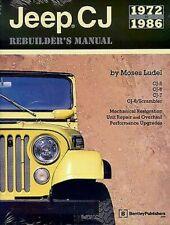 Jeep CJ Rebuilders manuell Buch Restauration Shop Reparatur Anleitung 4x4 5 6 7