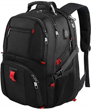 Travel Backpacks for Men, Extra Large College School Laptop Bookbags with USB 17