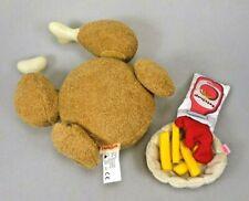 HABA Spielset Grillhähnchen mit Pommes Frites und Ketchup