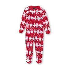 USA~98-104~Schlafanzug~Einteiler~Fleece~Nachtwäsche~Schneehase~Mädchen~warm~Hase