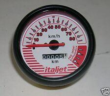 BB Strumento Conta KM Contachilometri  Italjet 50 Formula con Scritte Rosse