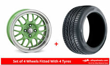 Summer Cades 4 Car Wheels with Tyres
