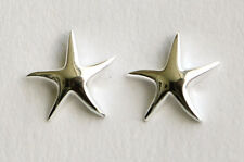 Sterling Silver Starfish Stud Earrings - Post and Butterfly Back - Gift Boxed