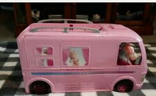 Mattel Barbie Dream Camper Rv Pink 2016 Motor Home w/ pool.
