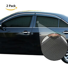 New 2pcs Car Side Window Static Cling Sun Block Shade Cover Windshield Tint Film