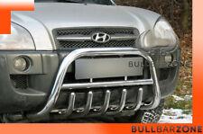 HYUNDAI TUCSON 2004-2009 PARE-BUFFLE BAS AVEC GRILLE DE PROTECTION CARTER INOX