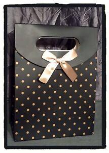 Boite Cartonnée Cadeau Bijoux - Petit pois - Ruban Nœud papillon - Pour Offrir