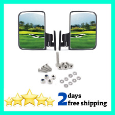 10L0L Golf cart Side Mirrors for Club Car EZ-GO Yamaha and Others