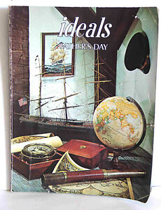 IDEALS MAGAZINE Father's Day 1980  Vol 37 #4 Back Issue Good shape vtg FREE SH