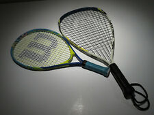 Head Ti. Demon Nano Titanium  & Wilson Spongebob Junior - Racquetball Rackets