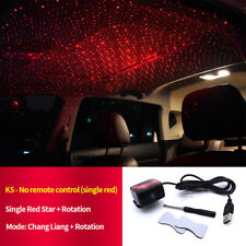 Red Car Atmosphere Lamp Interior Ambient Star Light Romantic Decoration Lamp