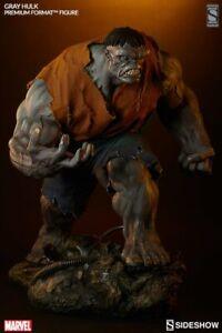 Grey Hulk Exclusive Sideshow Collectibles Premium Format Statue Displayed