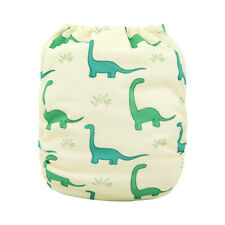 ALVA Baby One Size Cloth Diaper Reusable Washable Pocket Nappy With Insert