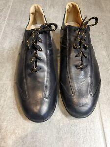 Allen Edmonds Peyton Men's Black Leather Driving Casual Oxford Shoes Size 11