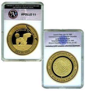 APOLLO 11 50TH ANNIVERSARY COMMEMORATIVE COIN PROOF VALUE $99.95