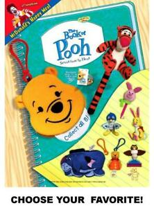 McDonald's 2001 Disney Winnie the Pooh: Book of Pooh Toys-Pick Your Favorite!