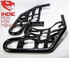 Honda TRX 450 2006-12 Quad ATV Nerf Bars Inc Nets & Fittings Black An (BlkN) #01