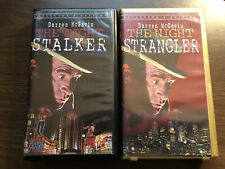 THE NIGHT STALKER & THE NIGHT STRANGLER - VHS RARE - Darren McGavin - HORROR