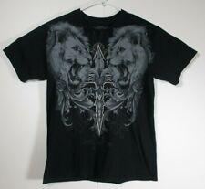 MMA Elite T-Shirt, Dual Lions,  Medium, Excellent Used