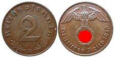 J362    2 Reichspfennig Dritte Reich  1940 E  502744