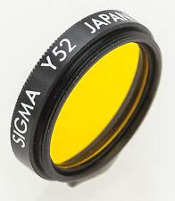 Sigma Y52 Farbfilter gelb 22,5 mm