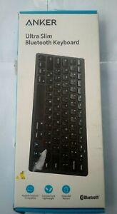 Anker Ultra Slim Bluetooth Keyboard, Black, A7726
