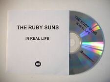 THE RUBY SUNS : IN REAL LIFE ♦ CD SINGLE PORT GRATUIT ♦