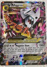 Lotto carte Pokemon MEGA M AGGRON EX 94/160 SCONTRO PRIMORDIALE FULL ART