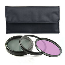 3pcs Threaded Kit UV + CPL Filters + FLD 58mm FOR Double D