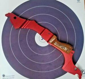 Mathews Archery 3D Vapor Compound Bow Riser RH Red w/ Wood Grip