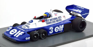 1/18 Scale Spark Tyrrell P34 #3 Brazilian GP 1977 Ronnie Peterson Model Car
