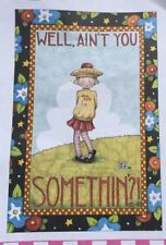 Mary Engelbreit Artwork-Well, Ain't You Somethin?-Handmade Fridge Magnet