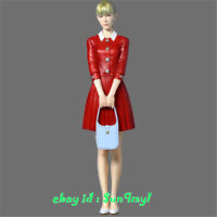 1/12 Model Kits Uniform Girl Figure Lady Resin GK Unpainted Unassembled
