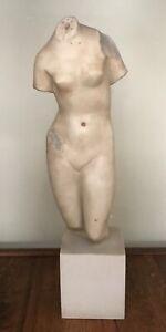Vintage Metropolitan Museum of Art Roman Greek Aphrodite Sculpture Marble,1993