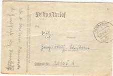 *Feldpost II. WK - 1942 * von Hamwarde (29)