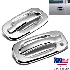 For 1999-2006 Chevy Silverado / GMC Sierra Chrome 2 Door Handle Covers