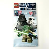 Lego Star Wars Valentines Day Cards 32 Count Hallmark Party Stickers & Poster