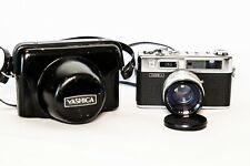 Yashica Electro 35 35mm Rangefinder Film Camera With Case and Strap