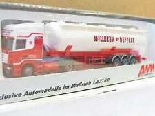 "AWM 71433 Scania Silo -Sattelzug ""Nillezen Bv Oeffelt"" OVP (U4751)"