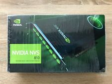 PNY NVIDIA NVS 810 4GB GDDR3 Graphics Card (VCNVS810DVIPB)  Plus Cables , extras