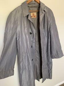 Vintage Baracuta Rain Jacket Coat Made In England Terylene Fabric Suits L/XL